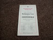 Northampton Town v Chesterfield, 1976/77